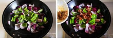青椒洋葱炒牛肉3