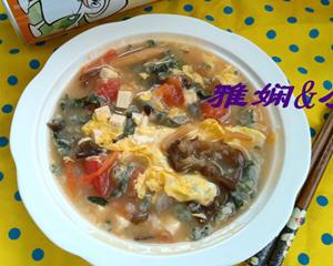 菠菜疙瘩汤的家常做法窍门