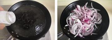 黑木耳炒洋葱的家常做法3