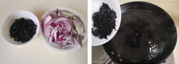 黑木耳炒洋葱的家常做法4