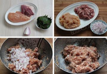 夏季简单的紫苏烤肉1