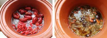 红枣枸杞银耳羹2