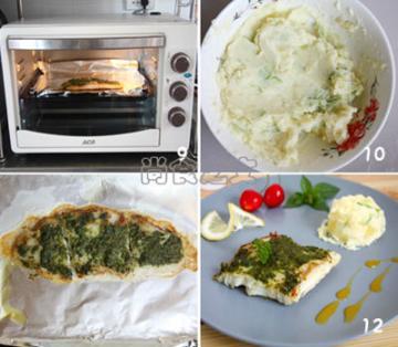 柠檬烤巴沙鱼配土豆沙拉2