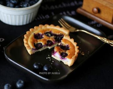 蓝莓蛋挞的家庭做法1