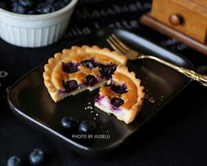 蓝莓蛋挞的家庭做法