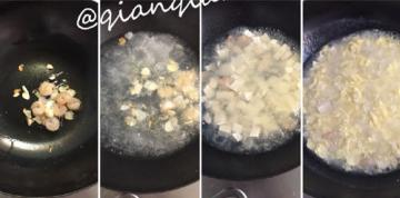 1岁宝宝吃的虾仁豆腐羹3