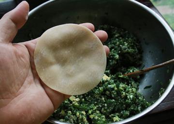 美味韭菜三鲜水饺4