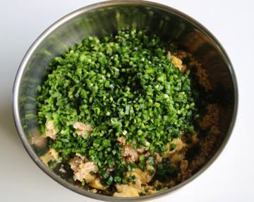 美味韭菜三鲜水饺5