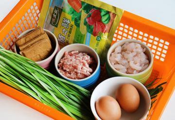 美味韭菜三鲜水饺9