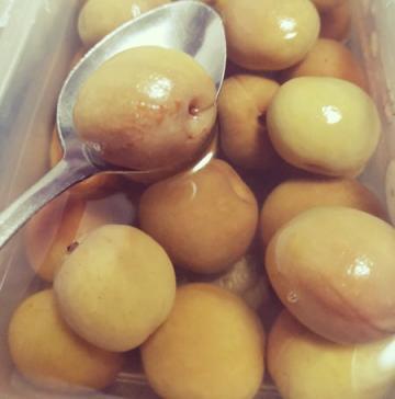 杏子加冰糖的腌制方法(处理酸涩杏子最佳方法)2