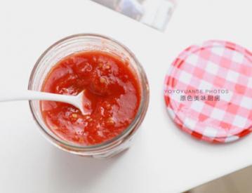 家庭自制无添加番茄酱2