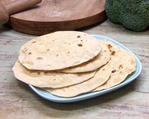 全麦原味的印度烤饼Chapati