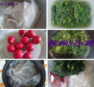 荠菜萝卜拌粉皮3