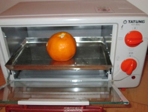 用烤箱烤橘子多长时间多少度好?1