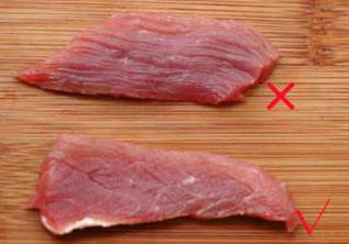 图解牛肉的切法2