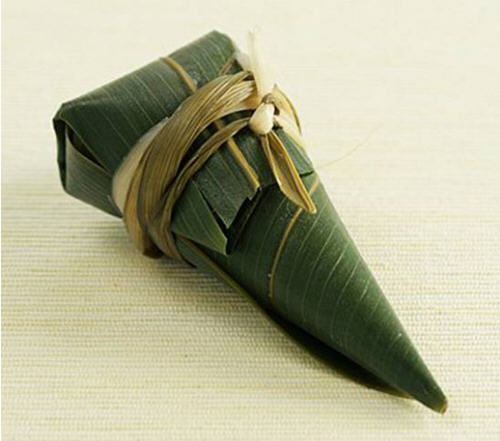 锥形粽子的包法?圆锥粽子怎么包?9