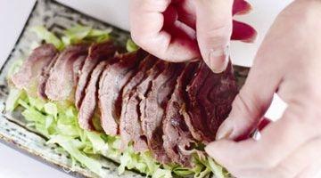 圆白菜拌牛肉7