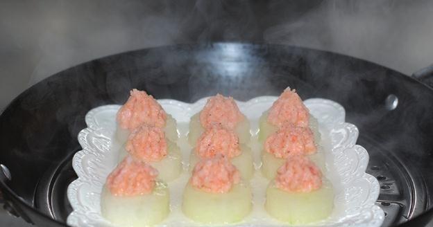 虾蓉蒸冬瓜5