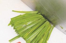 韭菜炒馓子2