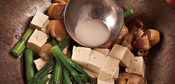 草菇炖豆腐8