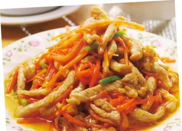 胡萝卜牛肉丝6