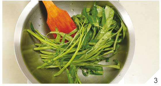 蒜味空心菜3