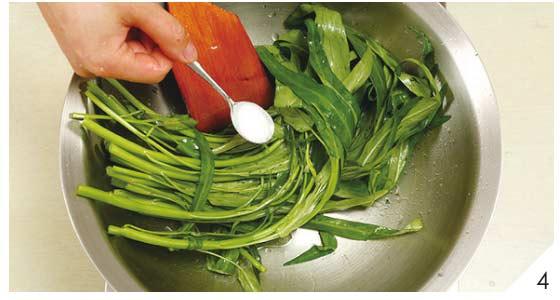 蒜味空心菜4