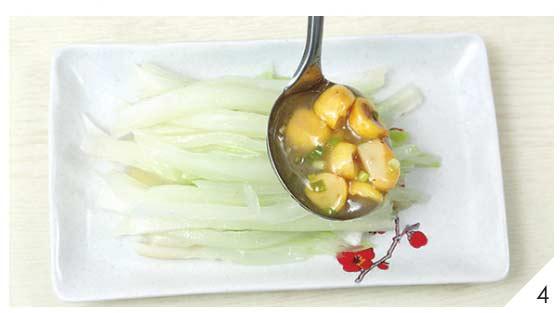 白菜根炒栗子4
