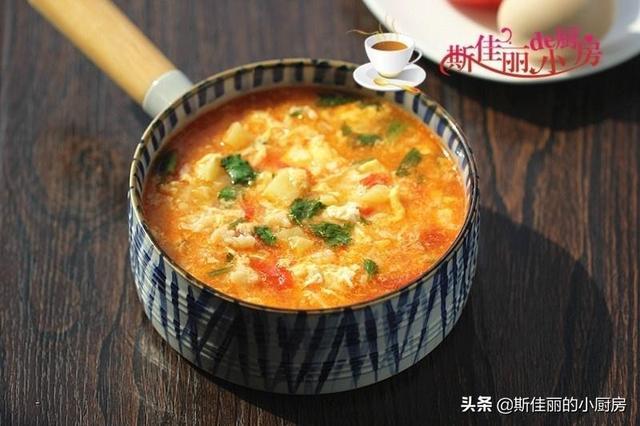 冷天【驱寒暖胃 】早餐就该这样吃,热乎乎简单又营养!3