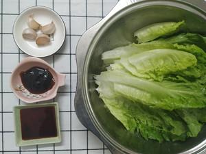 蚝油炝生菜1