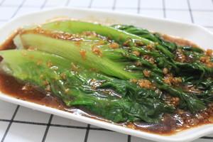 蚝油炝生菜9