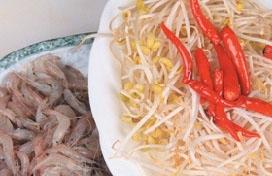 双芽虾米煲1