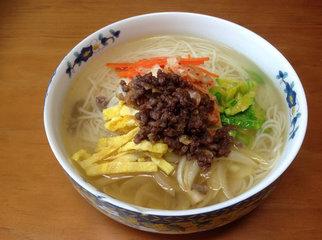 韩式宴会面的做法-韩式宴会面的制作方法7