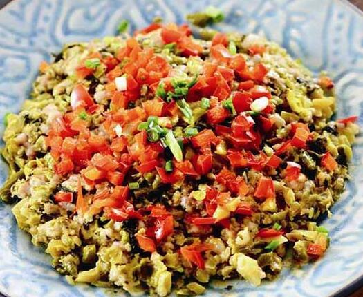 咸酸菜剁猪肉