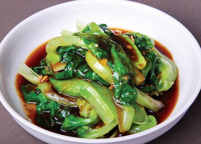 蚝油炝生菜
