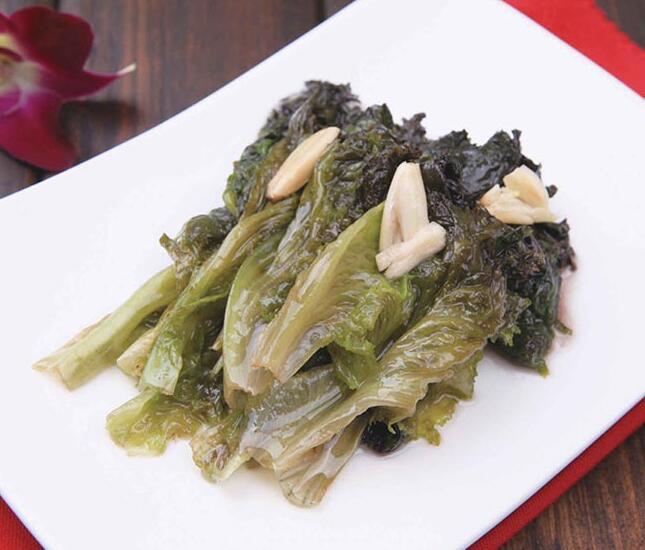 蒜香紫生菜