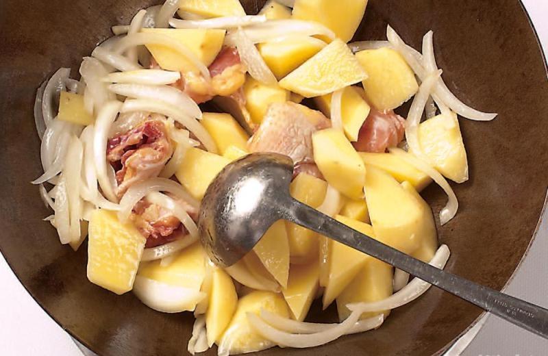 土豆咖喱鸡块7