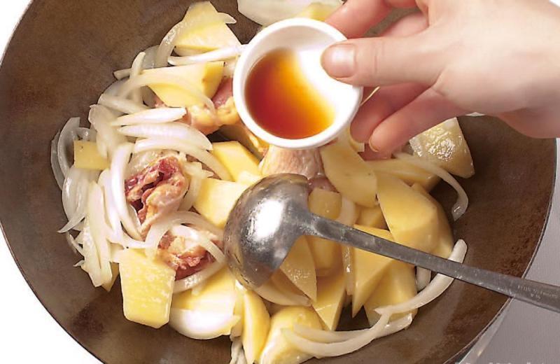 土豆咖喱鸡块8