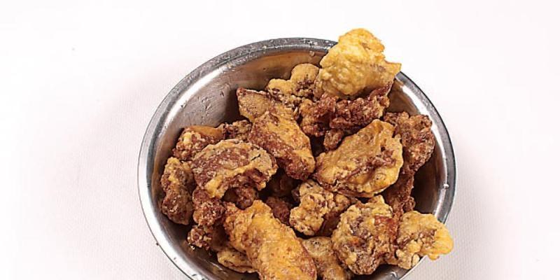 芝麻炸鸡肝的做法讲解、芝麻炸鸡肝怎么做好吃图解7