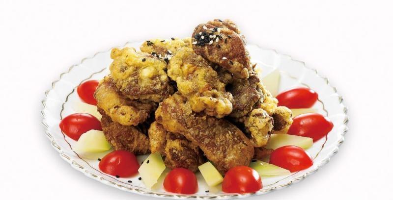 芝麻炸鸡肝的做法讲解、芝麻炸鸡肝怎么做好吃图解8