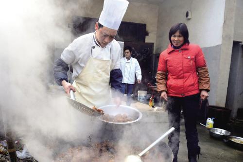 分享一道冬季防寒菜【油泼羊肉】1